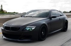 matte black #BMW M6