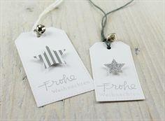Carolas Bastelstübchen: Weihnachtliche Geschenkanhänger...................