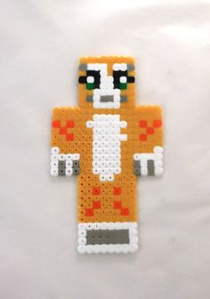 Stampylongnose plastic bookmark inspired by by Minecraft on Etsy, £5.00
