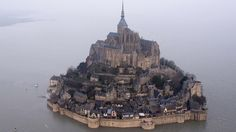 """""""Tangled"""" in France - Mont Saint-Michel in Normandy, France"""
