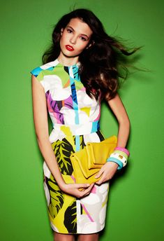 Paula Folch for Nacho Aguayo Spring 2012 Campaign | Fashion Gone Rogue: The Latest in Editorials and Campaigns