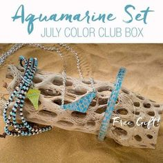 July's Color Club Box is absolutely beautiful 😍! Ask me how you can sign up!