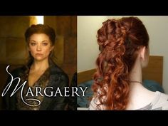 Game of Thrones Hair - Margaery Tyrell at the S4 Coronation - YouTube
