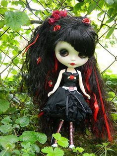 Blythe Custom Rose by *Sceptical*, via Flickr