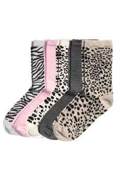 H&M - 5-pack socks £5.99
