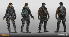 ArtStation - Tom Clancy's The Division, Tom Garden