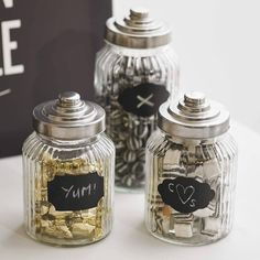 twelve pack of reuseable chalkboard jam jar labels by ginger ray | notonthehighstreet.com