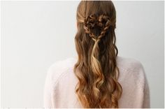 Heart Valentine's Day Hair