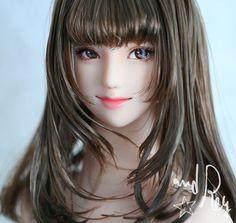 沙里奈 : and Rey works Anime Dolls, Bjd Dolls, Realistic Dolls, True Art, 3d Character, Manga, Woman Face, Beautiful Dolls, Art Girl