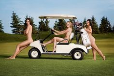 Leave it to women to make golfing sexy, and this collection of the sexiest female golfers have managed to do just that