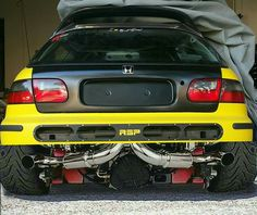 would be cool if my honda turned into  Transformers .. black n yellow, black n yellow