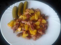. . . čo dnes variť (piecť) ?: Morčacie ražniči na plechu