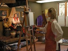 FAQ scott burdick susan lyon- studio lighting setup, travelling with oils, taking photos of your work, pretty much all topics related to painting pro