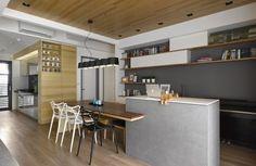 Liu's House by HOYA design | Décoration de la maison