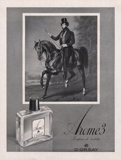 "Original Vintage French Ad - D""Orsay Parfum 1954"