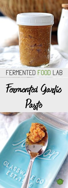 Garlic is filled with health benefits. Looking for more ways to eat it? Try this fermented garlic paste. Fermentation Recipes, Canning Recipes, Sauce Spaghetti, Do It Yourself Food, Food Lab, Food Food, Garlic Paste, Fermented Foods, Kefir