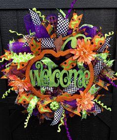 Handmade designer quality Deco Mesh Wreath #halloweenwreath, #fallwreath, #homedecor #etsy #etsyseller #etsyshop #etsylove #etsyfinds #etsygifts #photoofthedays #loveit #instacool #shopping #onlineshopping #instashop #musthave #instagood #photooftheday #picoftheday #love #OTstores #smallbiz #instafollow #sunflower #sunflowers #flower
