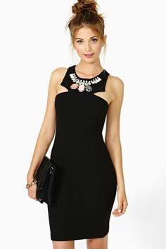 Discovery Jeweled Dress