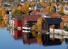 Drammen, Norway (Where my 2nd great grandfather Nels Hanson was from)