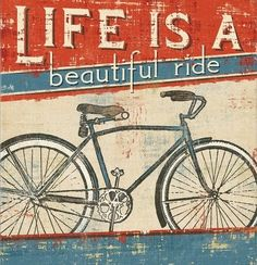 ...life is a beautiful ride...to the amazing women heading off at the end of the week! Have a great time xx