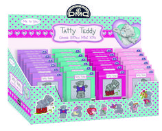 Tatty Teddy cross-stitch mini kits from DMC Creative in Brand Spanking New
