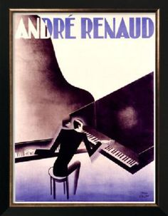 Andre Renaud , the 1930's.