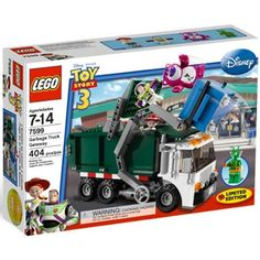Amazon.com: LEGO Toy Story 3 Exclusive Limited Edition Set #7599 Garbage Truck Getaway: Toys & Games