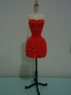 Front view of the Barbie Strapless Layered Dress