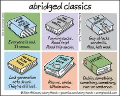 The perfect guide toclassic literature for lazy people