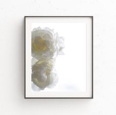 White Wall Picture, Large Poster Art, Flower Wall Print, White Wall Poster, Flower Art Print, Floral Wall Art, Modern Photography, Spring