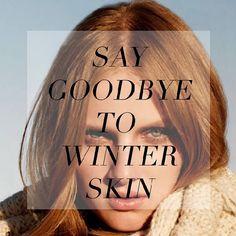 No more winter skin!