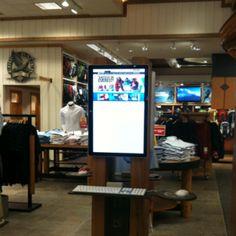 Eddie Bower digital in- store. Chicago, Il