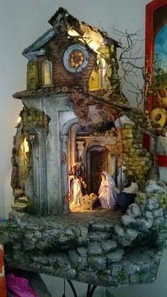 Portal, Eclectic Decor, House Design, Set Design, Vignettes, Garden Art, Wallpaper, Nativity Sets, Building