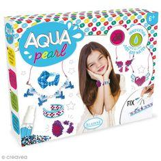 Compra nuestros productos a precios mini Kit Aqua Pearl - Hago mi bisutería - Entrega rápida, gratuita a partir de 89 € !