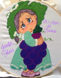 La Magia del Bordado Proyecto # 27 Needlework, Diy And Crafts, Projects To Try, Crochet Hats, Clip Art, Embroidery, Drawings, Fabric, Tejidos