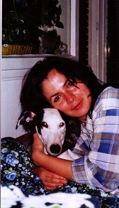 Mi galguita Gala y yo (Georgina) 2006 en Berlin Zehlendorf