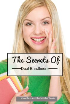 Tweet If you are looking at homeschooling high school (or if you are planning to send your kids to a traditional school for high school) one of the biggest things people do not talk about is dual enrollment. Dual enrollment is when kids take classes at a local college (usually a community college) or inRead More >>