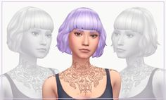 Sims 4 CC's - The Best: Michelle Hair for Males and Females by wildlyminia...