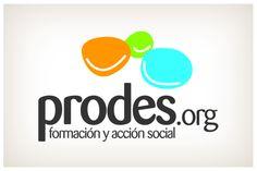 Prodes. El dibujo de tres sonrisas reflejan la finalidad de esta organización de acción social, hacer feliz a todas aquellas personas que participan de ella. © 2012 Veintiocho Estudio Creativo. #logotipo #logotype #veintiocho