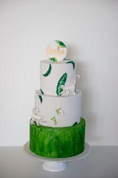 Dschungel / Affe / Hochzeitstorte Desserts, Food, Monkey, Jungles, Sugar, Pies, Tailgate Desserts, Deserts, Essen