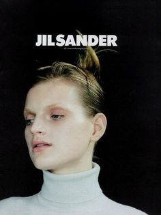 guinevere van seenus by craig mcdean for jil sander spring summer 1996 ad campaign http://ankosv.tumblr.com/post/16589684590/guinevere-van-seenus-by-craig-mcdean-for-jil