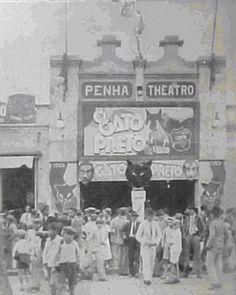Cine Penha Theatro, na Avenida Penha de França, em 1927