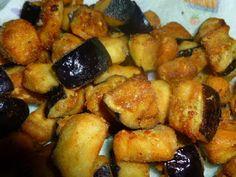un mondo di ricette: melanzane fritte con magic cooker