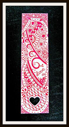 Love - bookmark