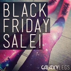 #GalaxyLeggings Black Friday Sale!
