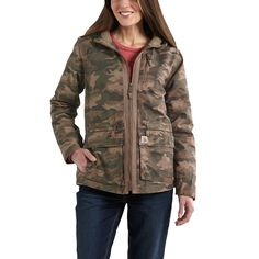 CARHARTT WOMENS' GALLATIN QUILTED JACKET - The Brown Duck