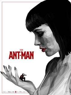 Ant-Man by Simon Delart - Official Collaboration with Marvel