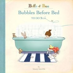 Bubbles Before Bed Book por belleandboo en Etsy, £6.99