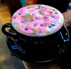 Unicorn Latte  #Coffee #Unicorn