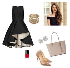 """""""Untitled #1"""" by siren5504 on Polyvore featuring Christian Louboutin, Michael Kors, Halston Heritage, Frederic Sage, Sole Society and Chanel"""